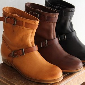 MUKAVA ムカヴァ ムカバ エンジニア ショートブーツ MU-902 レディース 靴|shoesgallery-hana