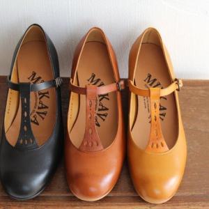 MUKAVA ムカヴァ ムカバ Tストラップパンプス MU-934 レディース 靴|shoesgallery-hana