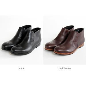 MUKAVA ムカヴァ ムカバ アンクルブーツ スリッポン MU-989 レディース 靴|shoesgallery-hana|10