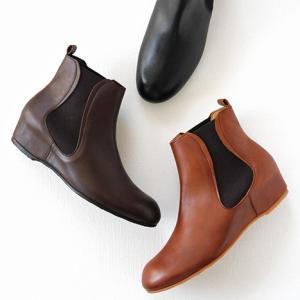 MUKAVA ムカヴァ ムカバ インヒールサイドゴアブーツ MU-990 レディース 靴|shoesgallery-hana