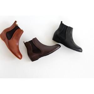 MUKAVA ムカヴァ ムカバ インヒールサイドゴアブーツ MU-990 レディース 靴|shoesgallery-hana|02