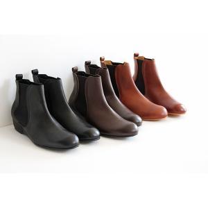 MUKAVA ムカヴァ ムカバ インヒールサイドゴアブーツ MU-990 レディース 靴|shoesgallery-hana|03