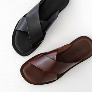 Nuovo Nicar ヌオヴォ ニカール EMOZIONI エモジオーニ メンズ レザーサンダルM6267 メンズ 靴|shoesgallery-hana