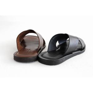Nuovo Nicar ヌオヴォ ニカール EMOZIONI エモジオーニ メンズ レザーサンダルM6267 メンズ 靴|shoesgallery-hana|07