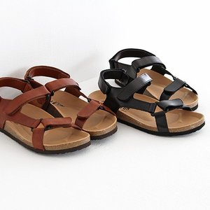 PLAKTON プラクトン コルクソールサンダル No.105160 VEQUETA ベルクロサンダル マジックテープサンダル レディース 靴|shoesgallery-hana