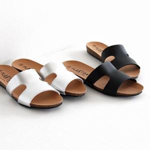PLAKTON プラクトン コルクソールサンダル No.575444 ミュール/ステップインサンダル レディース 靴|shoesgallery-hana