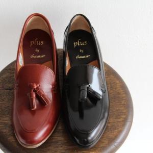 plus by chausser プリュスバイショセ タッセル スリッポンシューズ PC-5007 レディース 靴 shoesgallery-hana