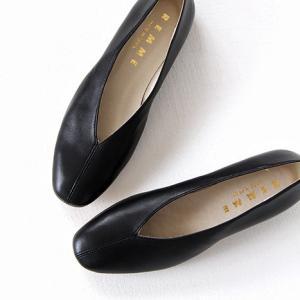 REMME レメ レザーフラットパンプス 6410SO レディース 靴 shoesgallery-hana