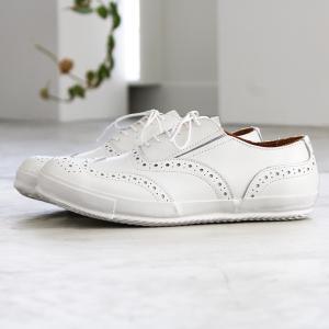 ses amis セザミ ウイングチップレザースニーカー SA-01 chausser ショセ レディース 靴|shoesgallery-hana