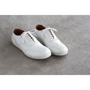 ses amis セザミ ウイングチップレザースニーカー SA-01 chausser ショセ レディース 靴|shoesgallery-hana|02