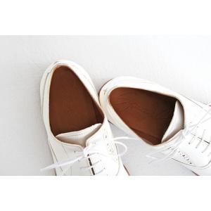 SPACE CRAFT スペースクラフト ホースヌメ革 レースアップシューズ SC-112 ホワイト レディース 靴|shoesgallery-hana|10