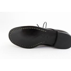SPACE CRAFT スペースクラフト プレーントゥ レースアップシューズ SC-163 ブラック キップレザー レディース 靴|shoesgallery-hana|11