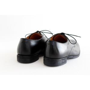 SPACE CRAFT スペースクラフト プレーントゥ レースアップシューズ SC-163 ブラック キップレザー レディース 靴|shoesgallery-hana|09