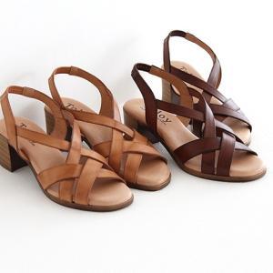 Toloy トロイ フロントクロスレザーサンダル No.1339 レディース 靴|shoesgallery-hana