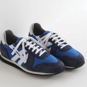 ZDA(ゼットディーエー)Marathon/マラソン ナイロン×スエード スニーカー No.2000FS(メンズ)|shoesgallery-hana