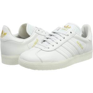 アディダス ガゼル (ガッツレー) adidas GAZELLE W ホワイト/ゴールド BY935...