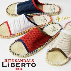 サンダル メンズ ビーチサンダル アウトドアサンダル ジュートサンダル メッシュ 通気性 軽量 スリッポン サボ メンズシューズ 靴 シャワーサンダル|shoesquare