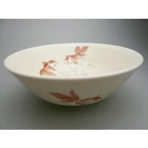 京焼 清水焼     仁清 金魚 平茶碗|shoindo