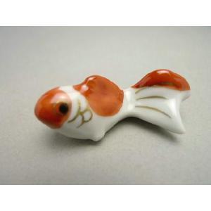 京焼 清水焼     箸置き 金魚 単品|shoindo