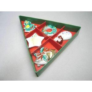 京焼 清水焼     京のクリスマス 箸置きセット shoindo