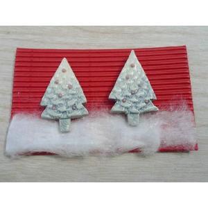 京焼 清水焼     ホワイトクリスマスペア箸置きセット shoindo