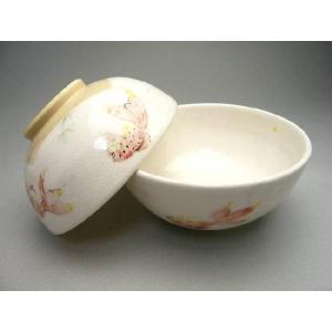 京焼 清水焼     色絵金魚夫婦茶碗 陶仙|shoindo