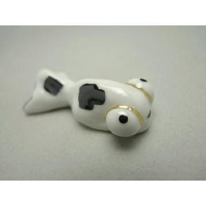 京焼 清水焼     金魚の箸置き(黒)|shoindo