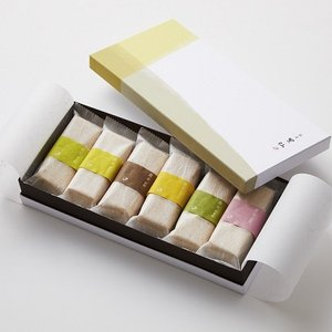 銀座割烹里仙  六彩味最中 二箱セット|shojikiya