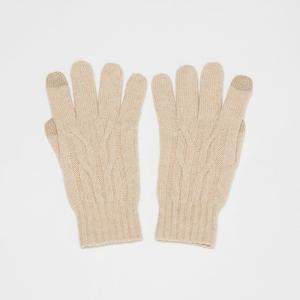 SHOKAY(ショーケイ)スマホ対応手袋 ヒマラヤン・プラトー・ミトンズ(オフホワイト)|shokay