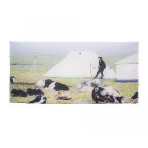SHOKAY(ショーケイ)「アットレスト・ショール」ヤク素材ショール shokay 04
