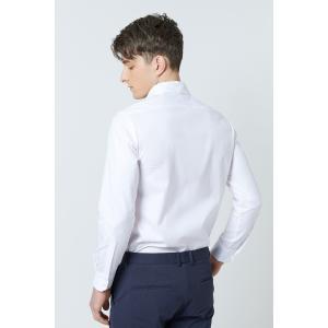 SHOKAY(ショーケイ)メンズ・コットンドレスシャツ(ホワイト)|shokay|04