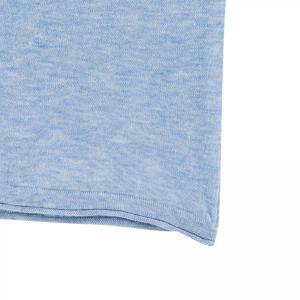 SHOKAY(ショーケイ)メンズ・ニットTシャツ(コットンヤク素材、ペールブルー)|shokay|05