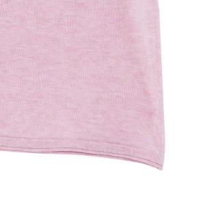 SHOKAY(ショーケイ)メンズ・ニットTシャツ(コットンヤク素材、ペールピンク)|shokay|05