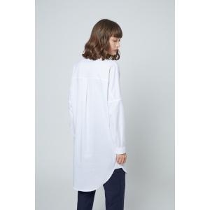 SHOKAY(ショーケイ)ウィメンズ・コットンシャツドレス (ホワイト)|shokay|02