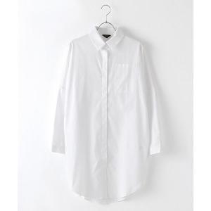 SHOKAY(ショーケイ)ウィメンズ・コットンシャツドレス (ホワイト)|shokay|03