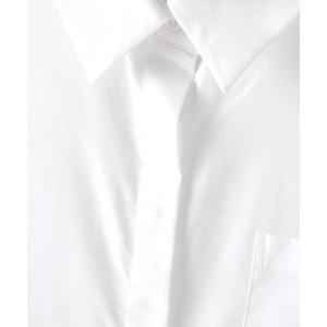 SHOKAY(ショーケイ)ウィメンズ・コットンシャツドレス (ホワイト)|shokay|04