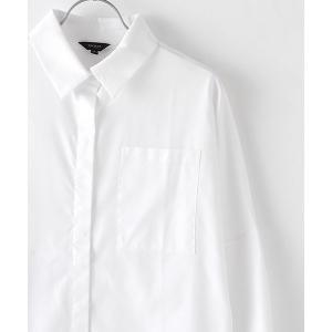 SHOKAY(ショーケイ)ウィメンズ・コットンシャツドレス (ホワイト)|shokay|05