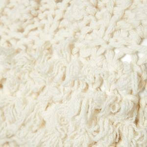 SHOKAY(ショーケイ)手編みタッセル・セーター(オフホワイト、ウール×ヤク×カシミヤ)|shokay|05