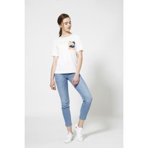 SHOKAY(ショーケイ)ウィメンズ・コットンTシャツ(ホワイト)|shokay