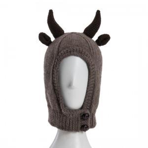 SHOKAY(ショーケイ) ヤク・ハット(ブラウン)子供用ニット帽|shokay
