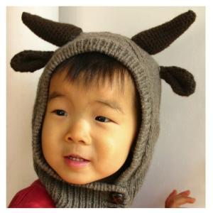 SHOKAY(ショーケイ) ヤク・ハット(ブラウン)子供用ニット帽|shokay|02