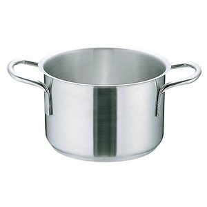 Murano ムラノ インダクション18-8 半寸胴鍋 (蓋無)20cm 7-0005-0202 半寸胴鍋|shokki-pro