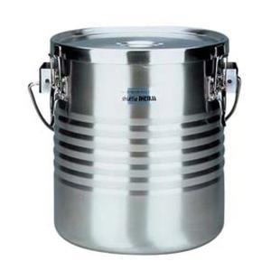 THERMOS 18-8 真空断熱容器(シャトルドラム) 吊付  JIK-S10 7-0185-0403 真空食缶|shokki-pro