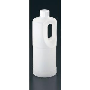 PE手付丸ボトル(内蓋付)TG-1000 7-0240-0401 プラ容器 shokki-pro