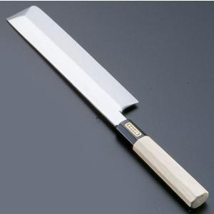 SA佐文 本焼鏡面仕上 薄刃木製サヤ  24cm 7-0279-0501 和庖丁(菜切) shokki-pro