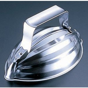 18-0ライス型 メロン 7-0506-1501 飯抜型(物相型) (TKG17-0506)|shokki-pro