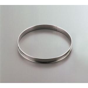 GOBEL ゴーベル 18-10タルトリング 824944 直径180mm 7-1015-1008 タルトリング|shokki-pro