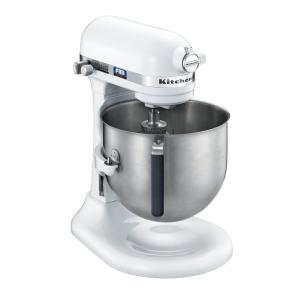 KitchenAid キッチンエイドスタンドミキサー KSM7WHホワイト 7-1094-0101 卓上型ミキサー|shokki-pro