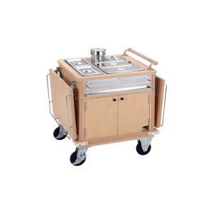ユニットケア用ケータリングワゴン 10人対応型 7-1140-0201 ワゴン(サービス用) shokki-pro