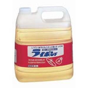 LION ライオン 中性洗剤 ライポンF 4l 7-1235-0201 洗剤(キッチン用) (TKG17-1235)|shokki-pro